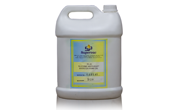 Silicone Vapor Jet Booster Pump Oil : SV-JS