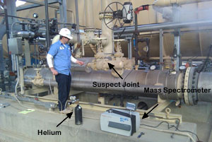 vacuum leak detection