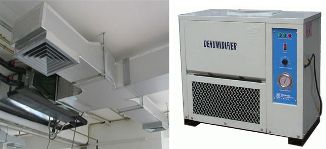 industrial-dehumidifier used by metallizers