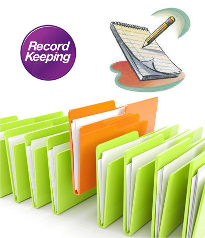 record keeping for vacuum metallizing